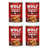 Wolf Brand Chili Hot Dog Sauce, 10 Ounce (Pack of 4)