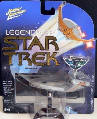 Action Figure Vehicle Star Trek Starship Romulan Warbird Playing Mantis 5 inch