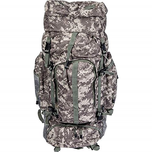 Extreme Pak Digital Camouflage Water-Resistant, Heavy-Duty Mountaineer's Backpack by BF001