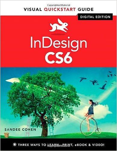Indesign cs6 visual quickstart guide sandee cohen 9780321822536 indesign cs6 visual quickstart guide 1st edition fandeluxe Image collections
