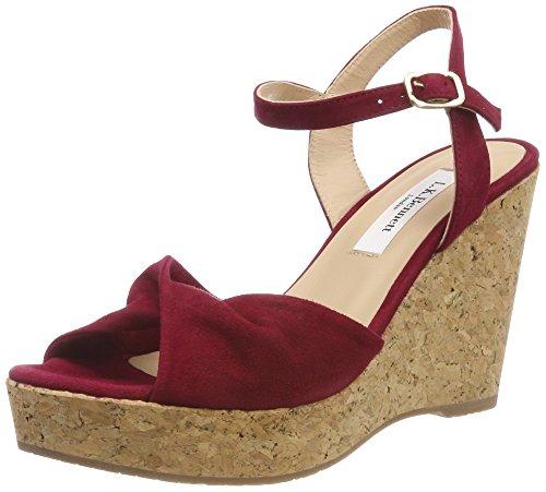 Red 625 Open Sandals Toe Adeline Women's Poppy BENNETT LK 6Bqwa1vq