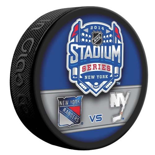 rangers official game puck - 8