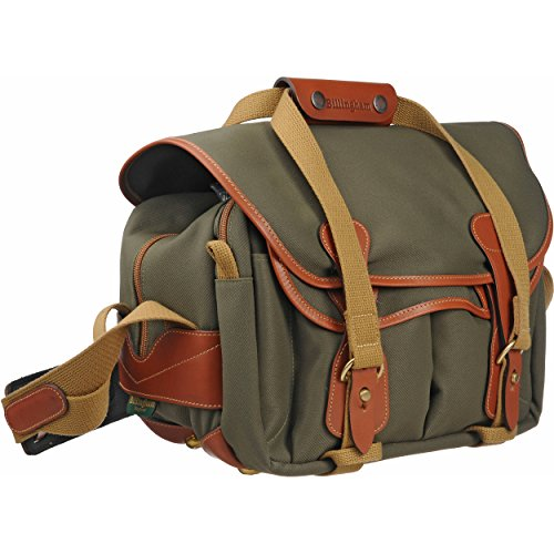 Billingham 225 FibreNyte Canvas Bag for Camera - Sage/Tan ()