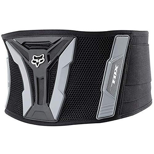 NWT Fox Racing MX ATV Turbo Kidney Belt Black Grey XL
