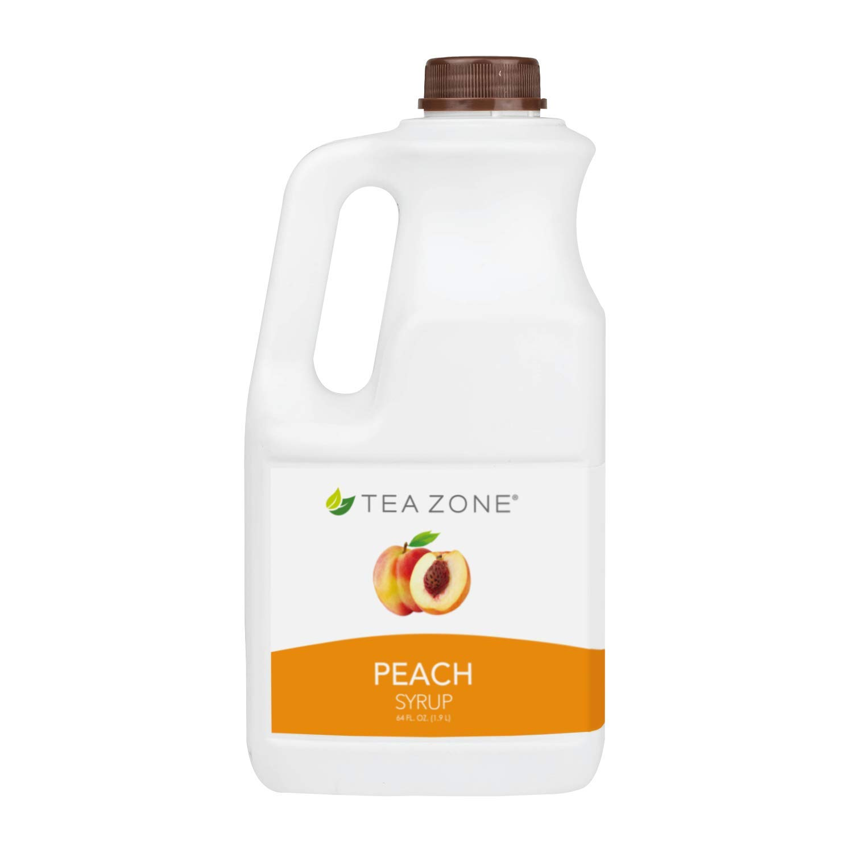 Tea Zone 64 fl. oz Peach Syrup