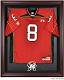 Maryland Terrapins Mahogany Framed Logo Jersey Display Case