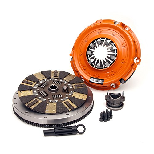 Centerforce KDF379176 Dual Friction Clutch Pressure Plate and Disc Set Replacement for 2012-2014 Jeep 3.6L 220-Inch 6 Cylinder -