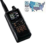 Kenwood Original TH-D74A 144/220/430 MHz, 5W Triband With APRS and D-Star Handheld Transceiver and Ham Guides TM Pocket Reference Card Bundle