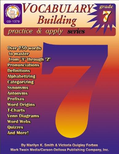 Read Online Vocabulary Building, Grade 7 (Practice & Apply) pdf epub