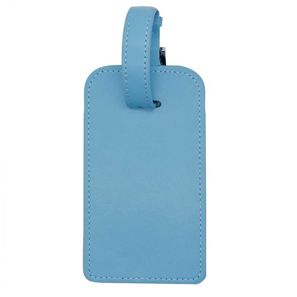 Etiquetas de equipaje, bolsa de piel de microfibra etiqueta identificador etiquetas para viaje vuelo funda equipaje maleta etiqueta bolsas de deporte, ...
