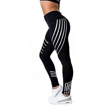 Xuanytp Pantalones de Yoga Mujer Leggings Deportivos Ropa ...