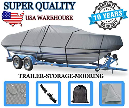 Boat Cover for Sea Ray 185 Sport 1997-2004 2005 2006 2007 2008 2009 2010 2011 2012 Heavy-Duty