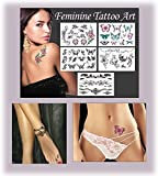 Feminine Temporary Tattoos