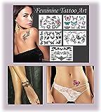 Feminine Temporary Tattoos