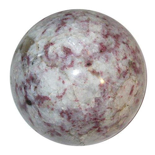 Rubellite Gemstone (Satin Crystals Tourmaline Ball Rubellite 2