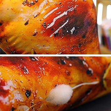 Monland Almohada De La Pierna De Pollo Frito De La ...
