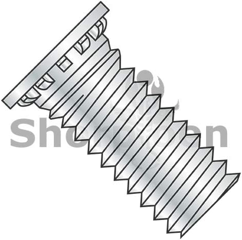 SHORPIOEN Self Clinching Stud Full Thread Hardened Steel Heat Treat Zinc and Bake 5//16-18 x 5//8 BC-3110SCN Box of 1000