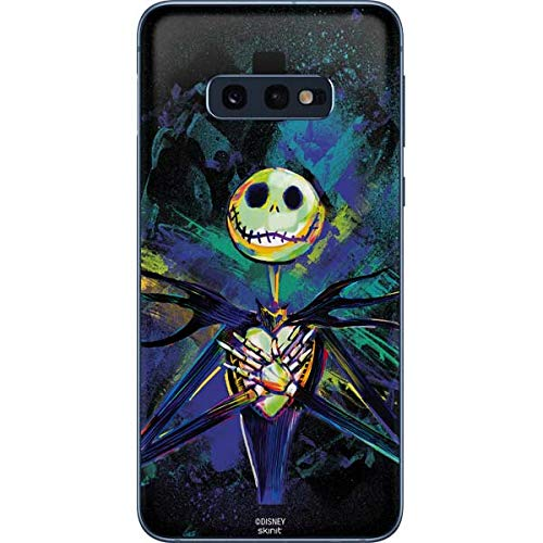 Skinit Jack Skellington Galaxy S10e Skin - Officially Licensed Disney Phone Decal - Ultra Thin, Lightweight Vinyl Decal Protection