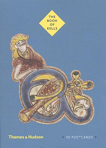 The Book of Kells: Postcards (Thames & Hudson Gift)