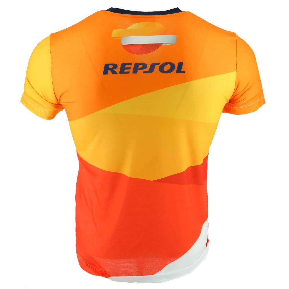 Pedrosa Large Logo Maglietta Ufficiale 2018 HONDA Repsol Moto GP Team Marquez