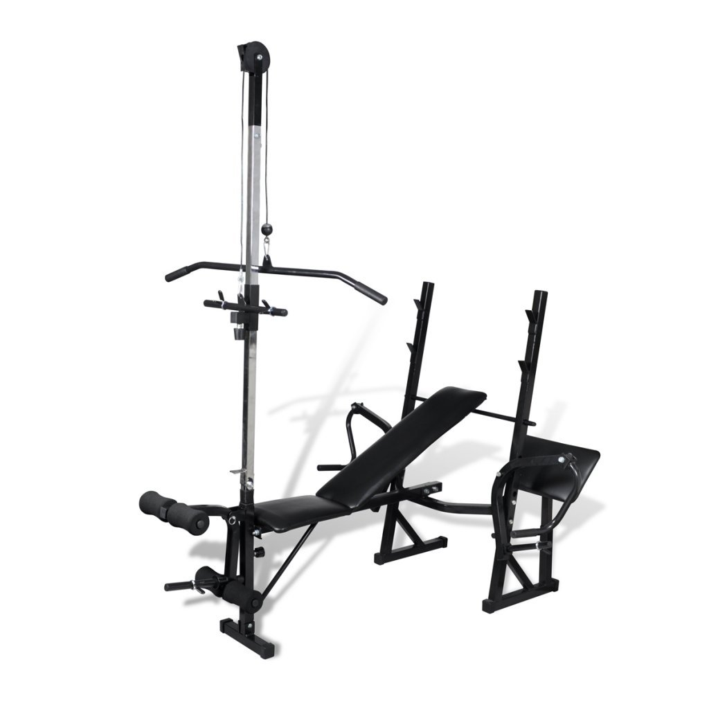 Daonanba Fitness Workout Bench Fitness Useful Workout Bench for Home Gym