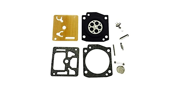 K33C K33D Zama RB-53 Carb Repair Diaphragm Gasket Kit Fit C3M-K33 K33B K33A