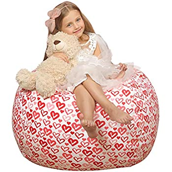 Amazon Com Wekapo Stuffed Animal Storage Bean Bag Chair