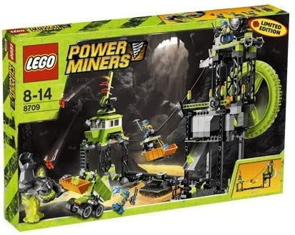 LEGO Power Miners Set #8709 Underground Mining Station (Limited Edition)