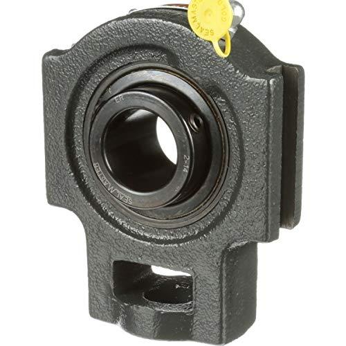 Contact Seals Medium Duty Regreasable Sealmaster MST-314C Take-Up Unit Cast Iron Housing Set Screw Locking Collar 5-15//16 Between Frames 70 mm Bore 1-1//16 Slot Width