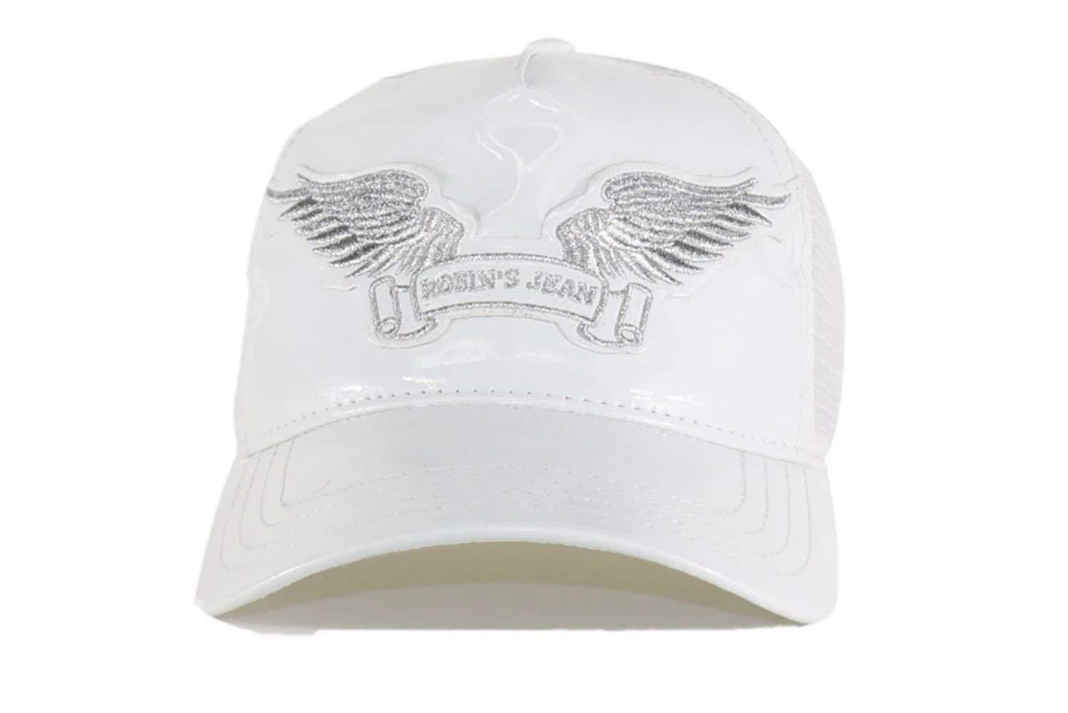 Robin Trucker Hat OSFA WHITE by ROBINS JEAN