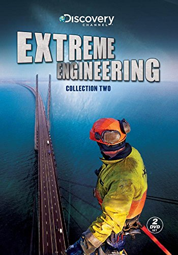 Extreme Engineering: Collection Two : Episodes Biggest Warship , Big Easy Rebuild , Millau Viaduct , Turning Torso , Transatlantic Tunnel , Subways in America , Tokyo's Sky City , Bridging The Bering Strait (Modern Marvels Dvd Collection)