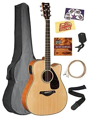 Yamaha FGX800 Guitar Bundles - DLX