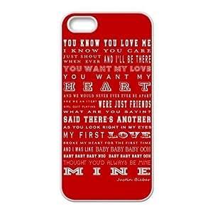 Subrina Sunshine Design Super Star Justin Bieber Baby Lyrics For Iphone 5C Phone Case Cover Best pragmatic Silicone Cover Case