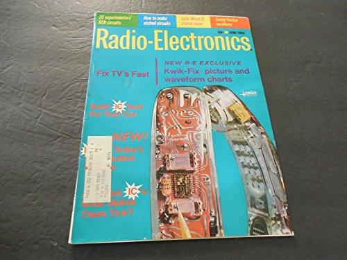 Radio-Electronics Jun 1969,Kwik-Fix Picture and waveform Charts -
