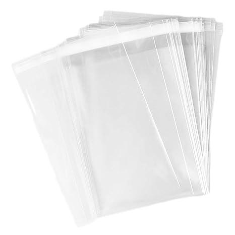 Amazon.com: Miraclekoo - 400 bolsas de celofán transparente ...