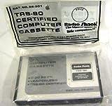 TRS-80 Certified Computer Cassette C-20