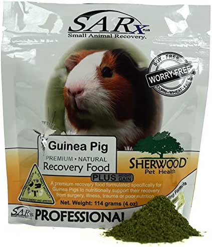 Sherwood Pet Health Recovery Food for Guinea Pigs, SARx Plus Soy-Free (Compare to 'Critical Care') (114 Grams)