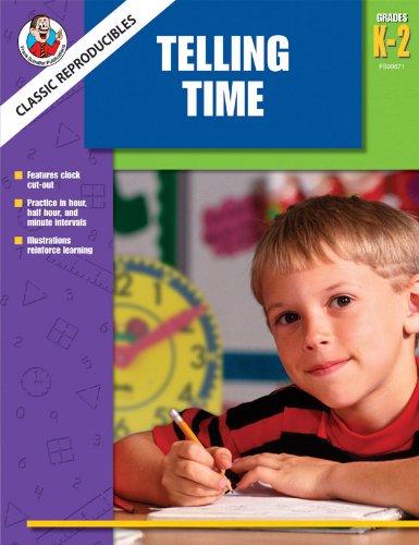 Classic Reproducibles Telling Time, Grades K-2 PDF