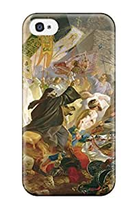 ERzPrVy3928EzRRn Case Cover, Fashionable Iphone 4/4s Case - Painting Artistic Abstract Artistic