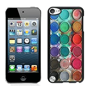 Diy Yourself Suppliersale best gifts Watercolor Sets Witeh Brushes iPod touch 5 case cover sVnMk1tIkud Black Cover 14