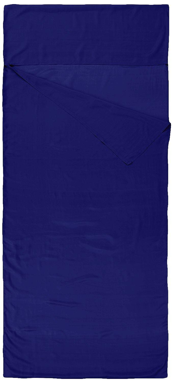 S/ábanas para sacos de dormir Negro Nod-Pod Saco de dormir de seda 100/% de seda natural