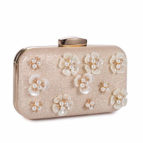 Floral Beaded Purse - 5