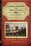 img - for Commanders and Casualties at the Battle of Gettysburg book / textbook / text book