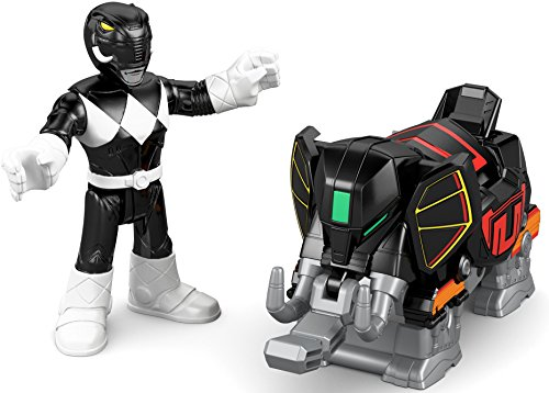 Fisher-Price Imaginext Power Rangers Battle Armor Black Ranger Alien Battle Axe