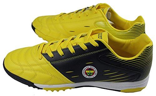 Kinetix - Botas de fútbol de Material Sintético para hombre amarillo