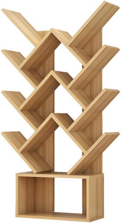 木製の創造的な本棚、リビングルームのシンプルな本棚人格寝室子供用本棚本棚