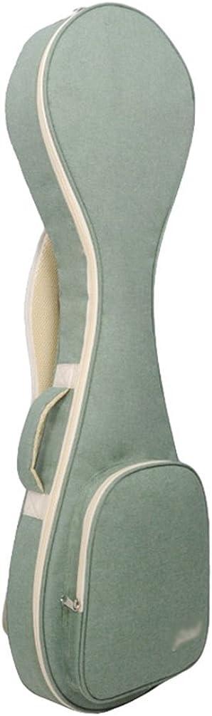 Yujeet Unisex Impermeable Acolchada Universal Guitarra Cremalleras Clásica Casual Guitarras