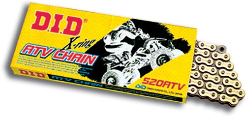 (DID 520ATV-106 Gold X-Ring Chain with Connecting Link)