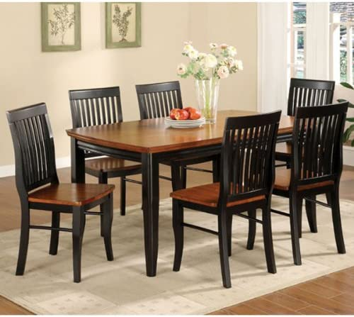 247SHOPATHOME dining-room-sets, 5-Piece, Black