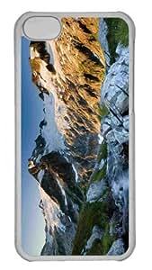 Customized iphone 5C PC Transparent Case - Dome Peak Washington United States Personalized Cover